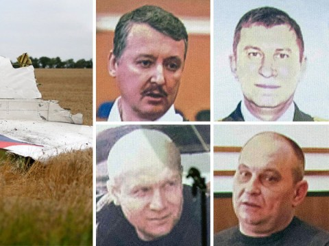 Four men charged with downing MH17 plane and killing 298 people