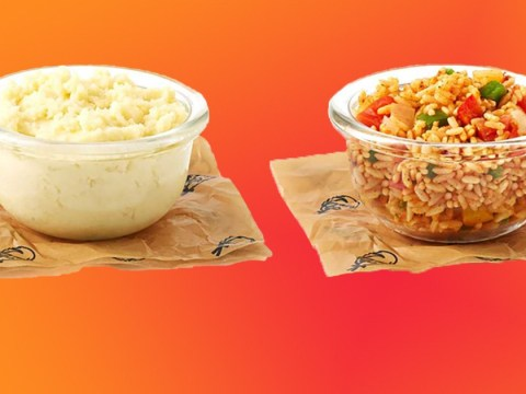 KFC launches mashed potato and spicy rice sides