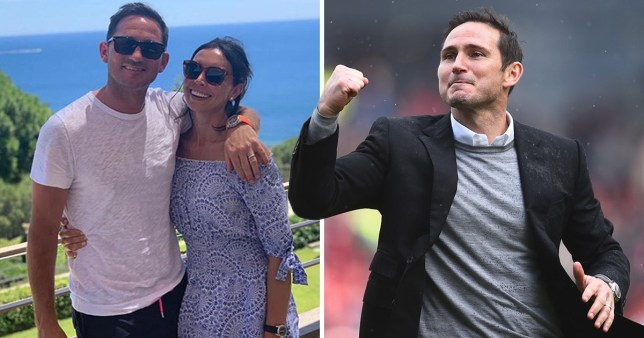 Christine Bleakley and Frank Lampard on holiday