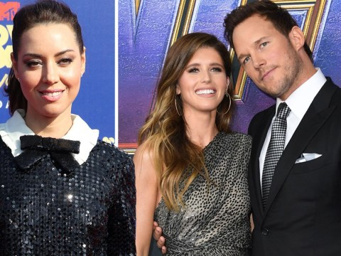 Aubrey Plaza thinks Katherine Schwarzenegger has 'hit the jackpot' with Chris Pratt marriage