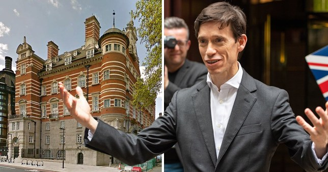 Rory Stewart decided to take matters into his own hands when he got locked out of his office