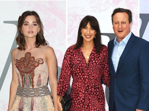 Tanya Burr, Jenna Coleman and Jennifer Garner glam up as they join David Cameron at V&A Summer Party