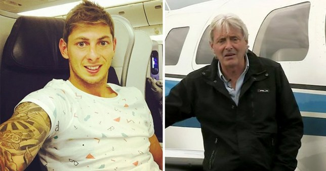 British pilot David Henderson is currently being investigated over the manslaughter of Emiliano Sala