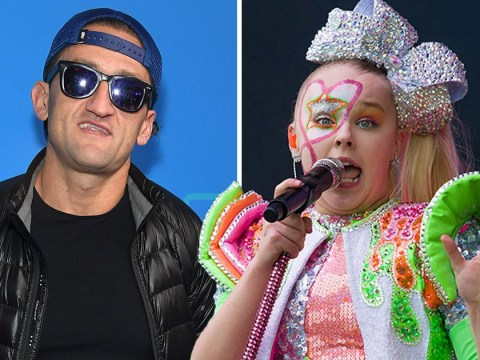 YouTuber Casey Neistat is doting dad as he takes daughter to JoJo Siwa concert