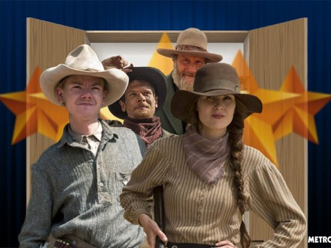Back Into The Closet: Why Sam Waterston was cast in last minute emergency and how Jack O'Connell destroyed his hat, all the costume secrets from Netflix's Godless