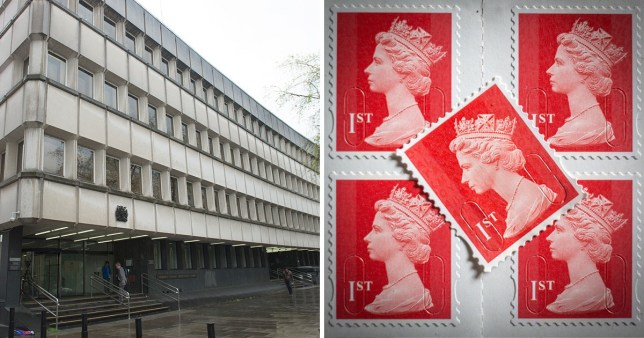An Italian father and son have denied forging 3.6 million first class stamps worth more than £2.2 million.