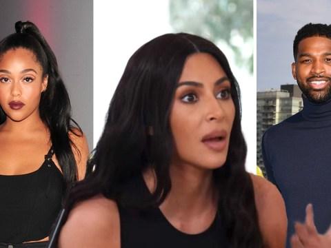 Kim Kardashian lashes out at 'idiot' Jordyn Woods amid Tristan Thompson drama