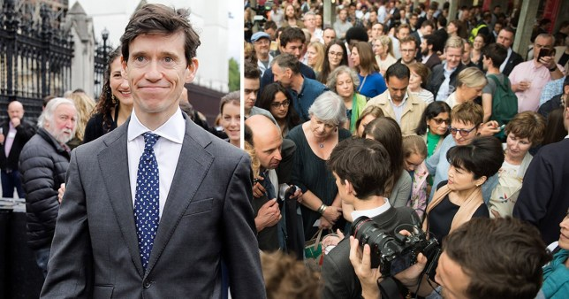 Rory Stewart called for a 300,000-strong centrist army to form a Tory version of Momentum and seize control of the Conservative Party.