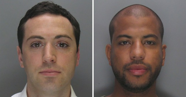Craig (left) and Marvin Brooks have been jailed for a year at Birmingham Crown Court for an investment scam