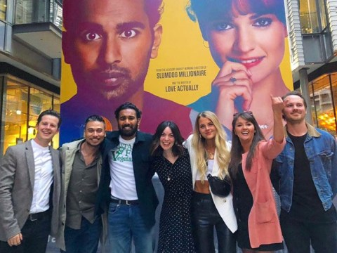 EastEnders cast enjoy epic reunion to celebrate Himesh Patel's new Hollywood role