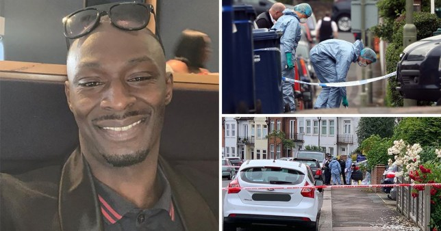 David Bello-Monerville, 38, was knifed to death on Tuesday, becoming London's 61st murder victim this year