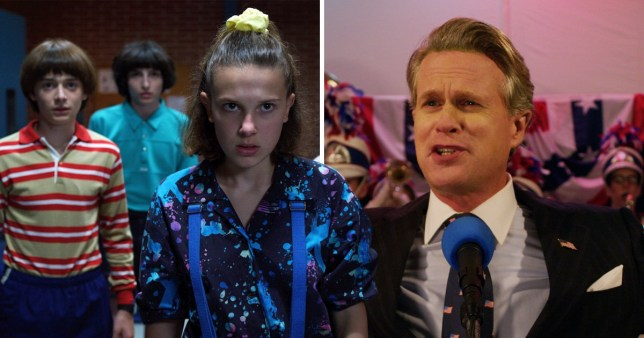 Cary Elwes - Mayor Kline - Stranger Things season 3