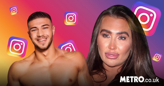 Love Island's Tommy Fury and TOWIE star Lauren Goodger