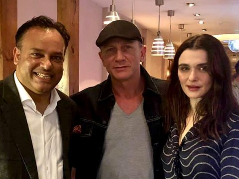 Daniel Craig breaks from Bond to enjoy anniversary dinner with Rachel Weisz at Camden restaurant