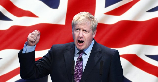 Boris Johnson has attempted to divert attention from his private life by saying he won't bottle it on Brexit day
