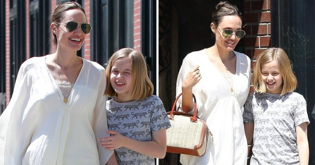 Angelina Jolie sets aside busy schedule to spend time with daughter