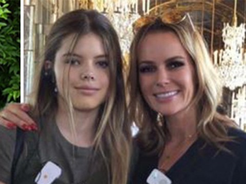 Amanda Holden puts Phillip Schofield feud to back of her mind as she enjoys family holiday