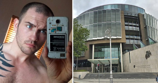 Patrick Nevin, 37, was sentenced on Monday at Dublin's Central Criminal Court after pleading guilty to one charge of rape and one charge of sexual assault