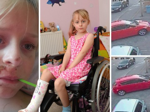 Girl, 6, shouts 'why was that man so mean?' in her sleep after hit and run