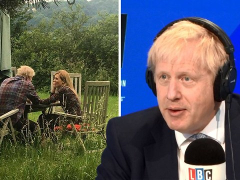 Boris Johnson refused 26 times to answer question about 'staged' photographs