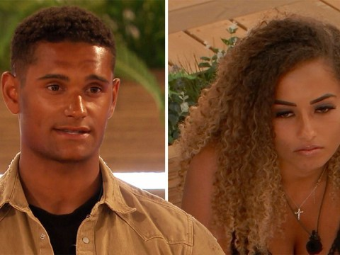 Love Island's Amber Gill shouts at Danny Williams over Arabella Chi kiss and it's a pretty special moment