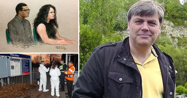 Darren Pencille, 36, has been found guilty of murdering Lee Pomeroy