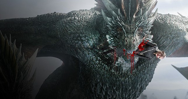 Did Drogon eat Daenerys in the Game of Thrones season 8 finale?