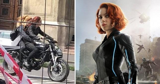 Black Widow Set Photos Hint At Hero S Future After Avengers