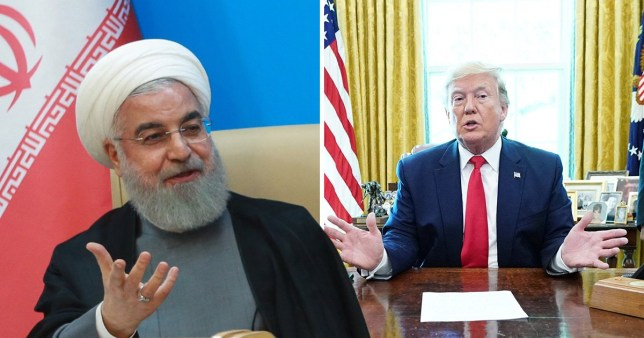 The Iranian President Hassan Rouhani has hit out at US sanctions on Iranian leaders by Donald Trump's administration