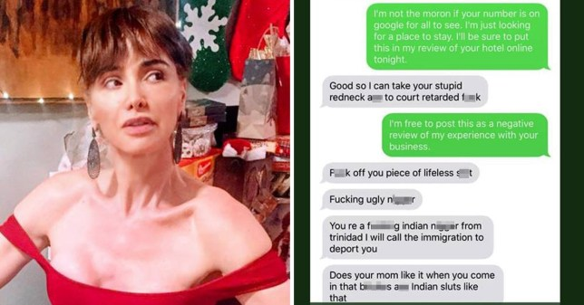 Racist messages Airbnb host sent to renter