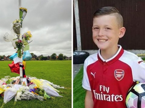 Boy, 10, died playing football with friends when 'blood vessel burst in his brain'