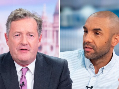 Piers Morgan rips into Alex Beresford over papooses: 'I don't even know who you are'