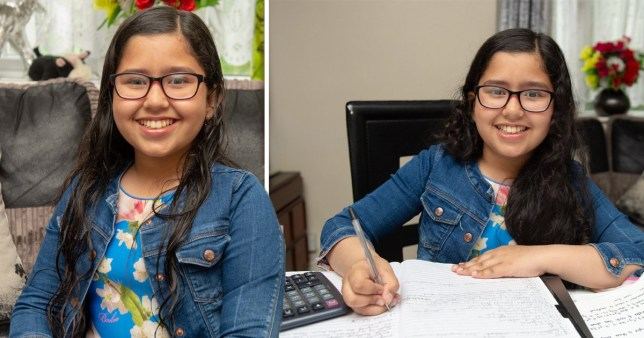 Anushka Dixit 11, scored a maximum on 162 on the Mensa IQ test and memorised the entire periodic table in 40 minutes
