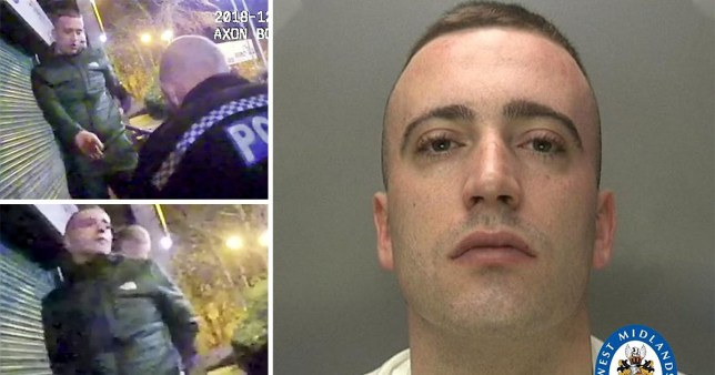 Comp of Jordan Bassett, of Willenhall, Coventry including mugshot and stills of him handing himself into police. Bassett shot his best friend while 'messing around' with a gun in a flat.