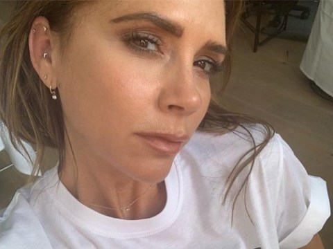 Victoria Beckham designs £90 tee for Pride and hurry up and take our money