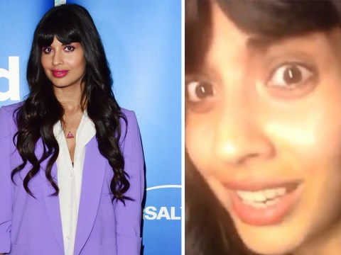 Jameela Jamil apologises for 'coming across like a preachy w***er' after Kim K clashes