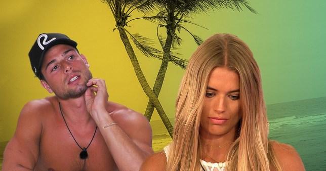 Love Island's Arabella Chi and Tom Walker