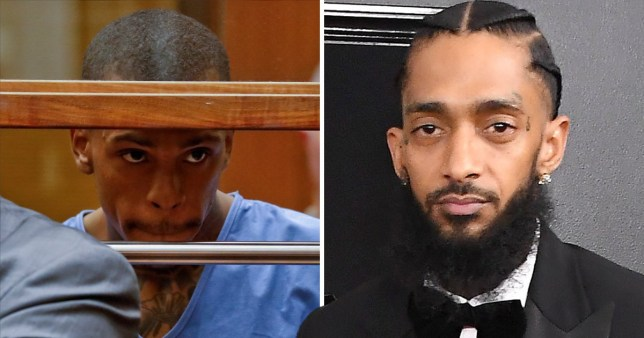 Nipsey Hussle getaway driver claims murder came after 'snitch