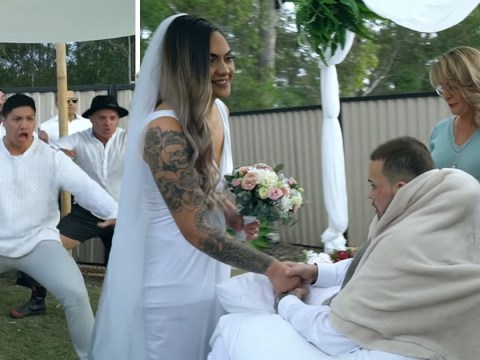 Last emotional haka for rugby player as he gets married day before he died