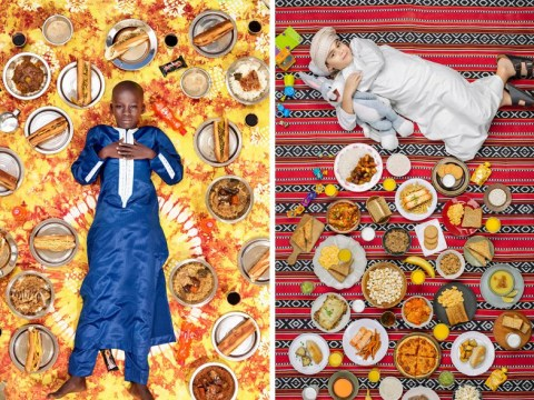 Incredible pictures show what kids around the world eat in one week