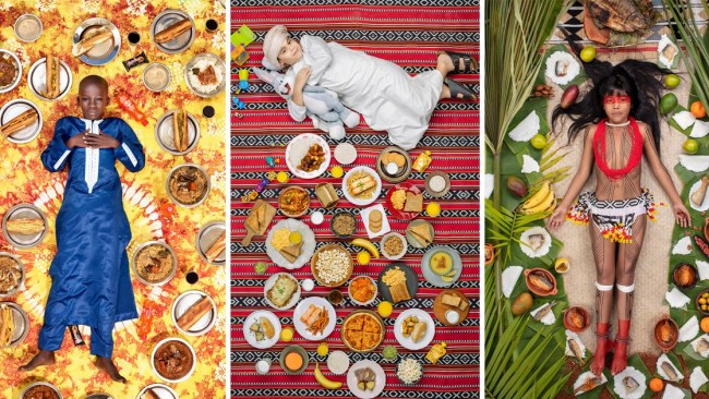 81ccb891245 Incredible pictures show what kids around the world eat in one week