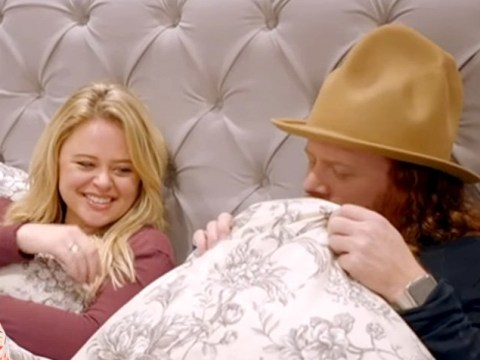 Emily Atack reveals she fakes it 'all the time' as she get super blunt about her sex life to Keith Lemon