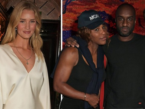 Serena Williams parties with Rosie Huntington-Whiteley at Virgil Abloh's event ahead of Wimbledon
