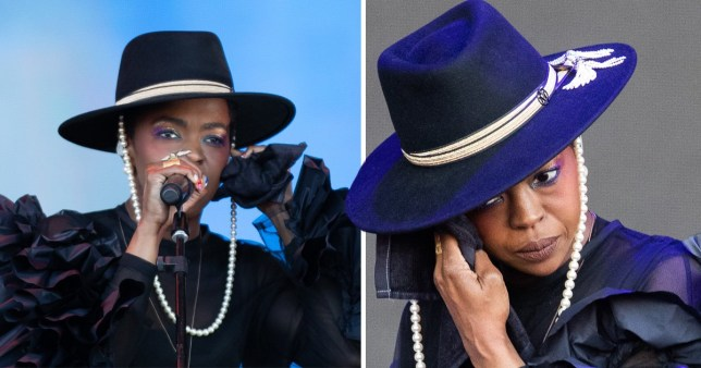 Lauryn Hill sound issues at Glastonbury