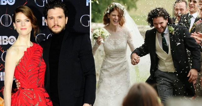 Kit Harington Wedding.Kit Harington And Rose Leslie Celebrate Wedding Anniversary In