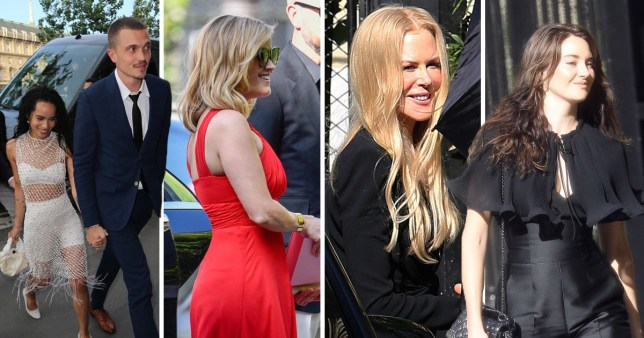 Reese Witherspoon And Nicole Kidman Attend Zoe Kravitz S