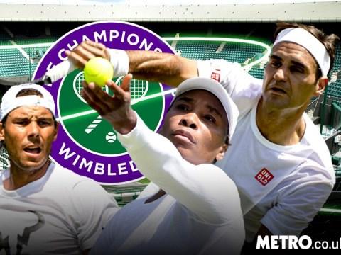 When are Roger Federer, Novak Djokovic, Serena Williams and Rafa Nadal playing at Wimbledon?