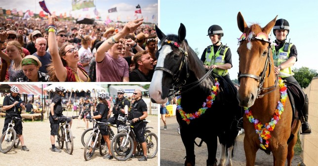 Glastonbury Festival crime is down by 42% this year