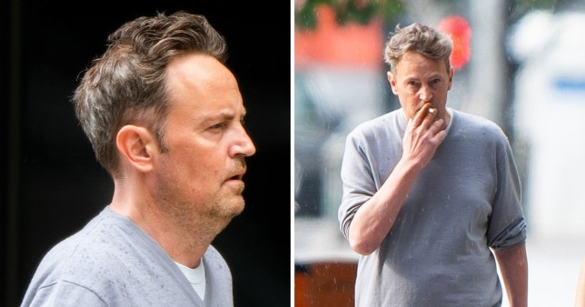 Friends Star Matthew Perry Looks Relaxed On New Public Appearance Metro News