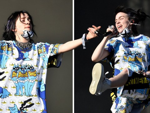 Billie Eilish thanks fans at Glastonbury for not leaving over 'technical difficulties'